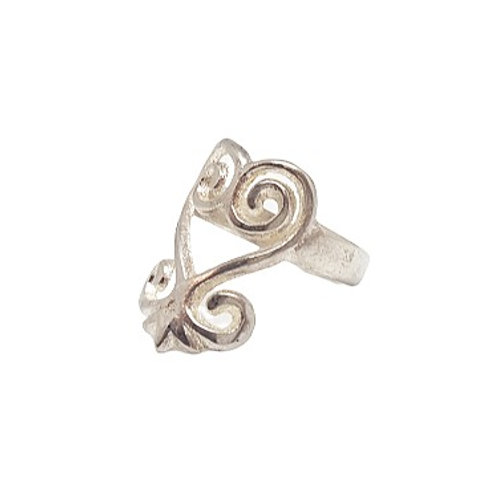 Brass Sankofa Ring