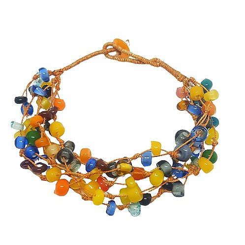 Glass Bead Bracelet
