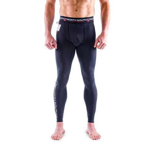 NS-200 Men Compression Spats Black