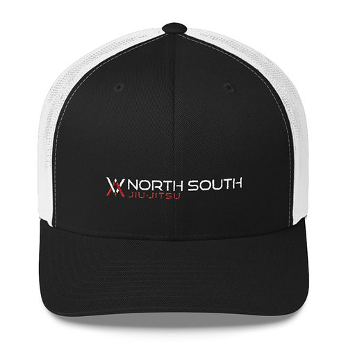 NS-31 Black and White Trucker Hat