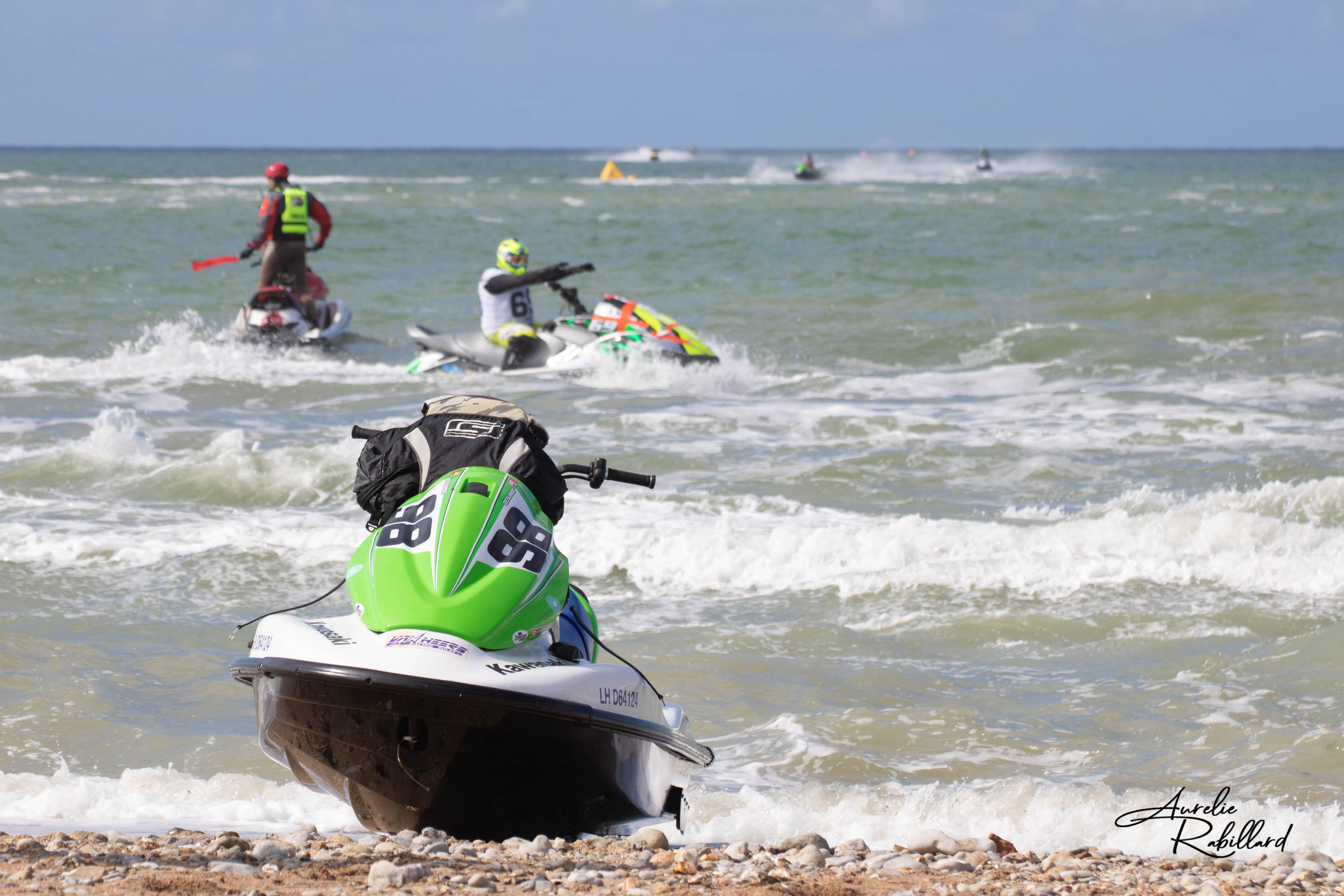 Championnat grand ouest de jet ski 2020 à villers sur mer (calvados 14)ur mer championnat une motoma