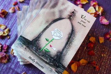 une vie pour une rose disney la belle et la bete dessin animé molly dreams auteure normandie villers sur mer 14 amour deuil alcool alcoolisme romance fiction