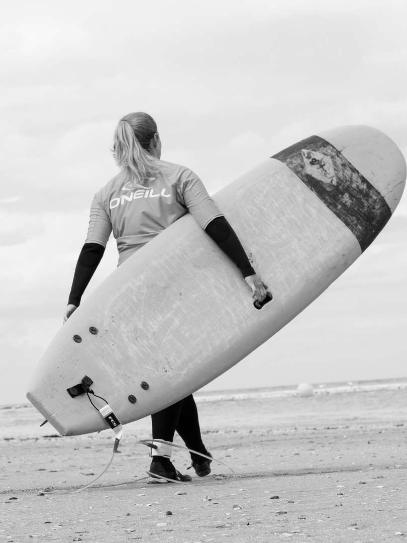 surf trouville sur mer ocean mer plance
