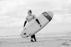 Quelques photos d'une journée surf à Trouville-sur-mer