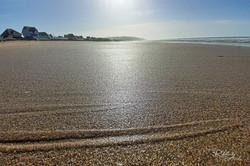 Mer et plage dans en Normandie
