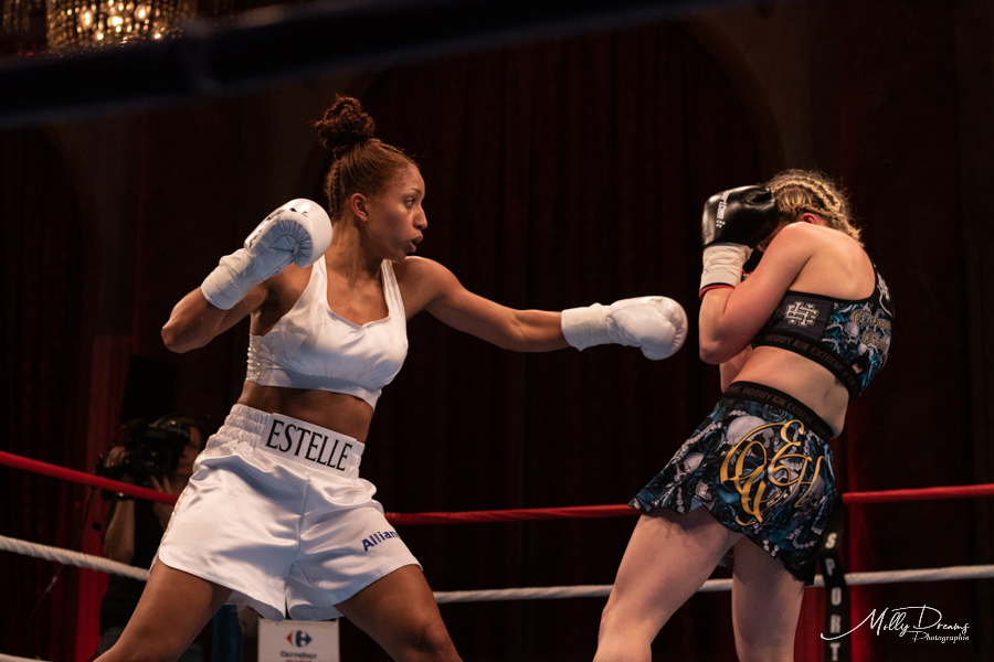 gala international de boxe à deauville le 22 décembre 2018 Molly Dreams