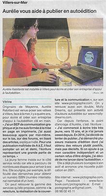article ouest france aurélie rabillard a