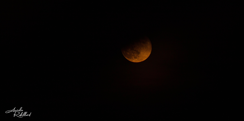 lune orange nature paysage beauté vie photos calavados 14 normandie villers sur mer Molly deams natu