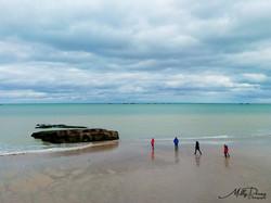 mer et plage normandie