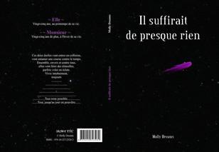 Création d'une couverture de livre.