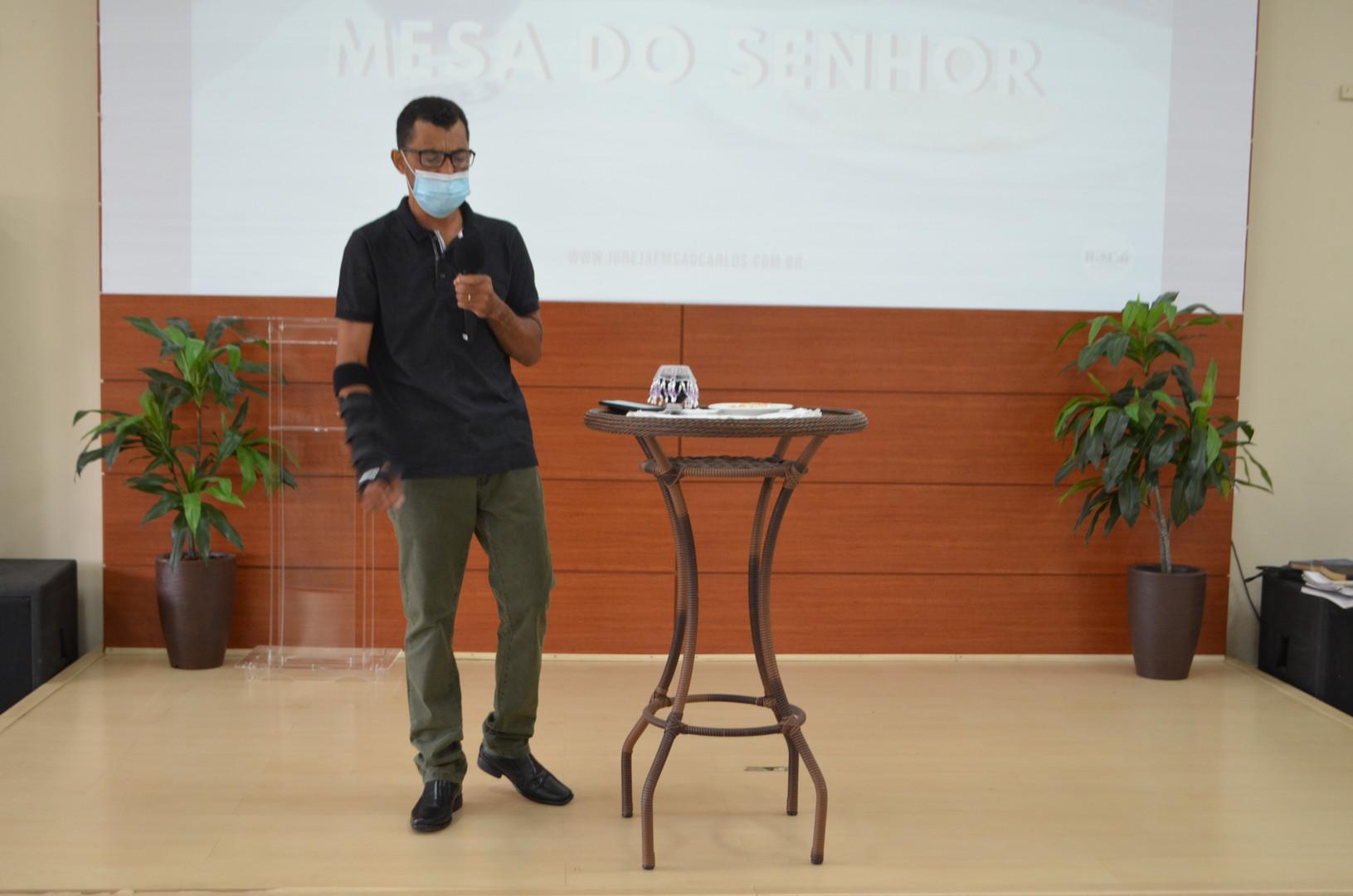 Primeira Reuinão - MESA DO SENHOR