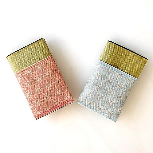 Porte-cartes en tatami-beri