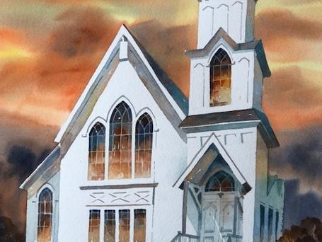 Untitled Presbyterian Church 1846, Somonauk