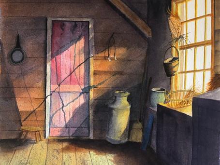 Red Door - Farm House