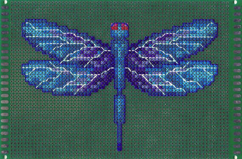 Crossed Circuits - Dragonfly