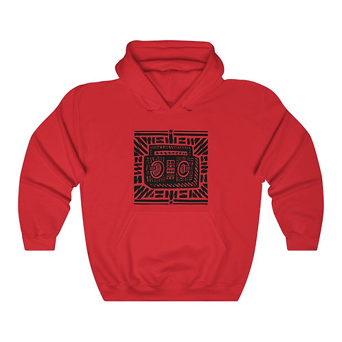 Boombox (front) / Mind's Eye (back) Unisex Heavy Blend™ Hoodie