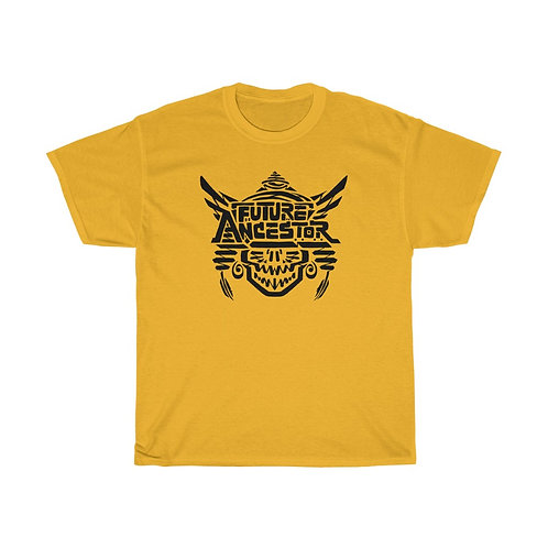 Future Ancestor (front) / Mind's Eye (back) - Unisex Heavy Cotton T-Shirt