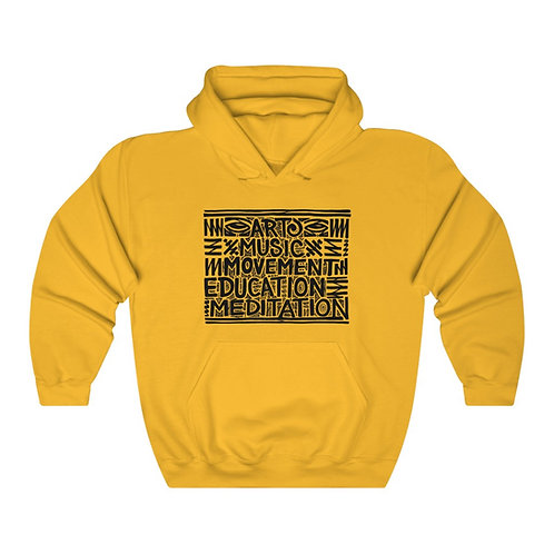 Daily Practices (front) / Mind's Eye (back) Unisex Heavy Blend™ Hoodie