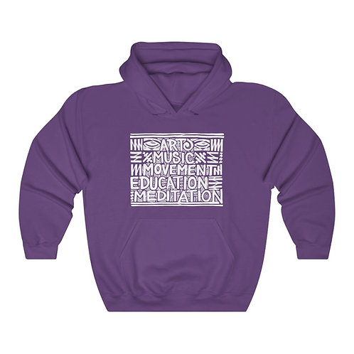 Daily Practices (front) / Mind's Eye (back) Hoodie