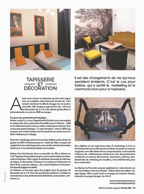 magazine maison et jardin MLF