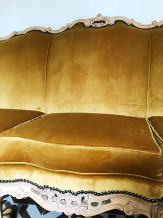 Canapé type régence