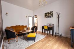 salon suite familiale château des Ayes