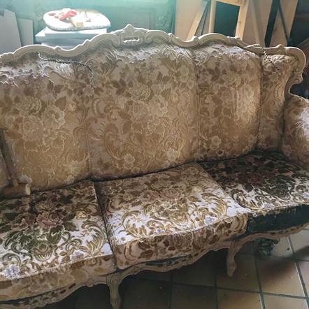 Canapé régence