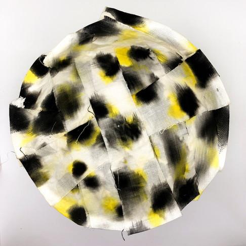 Fabric mache bowl