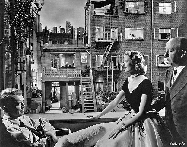 1954-...-Rear-Window-Jimmy-Stewart-Grace