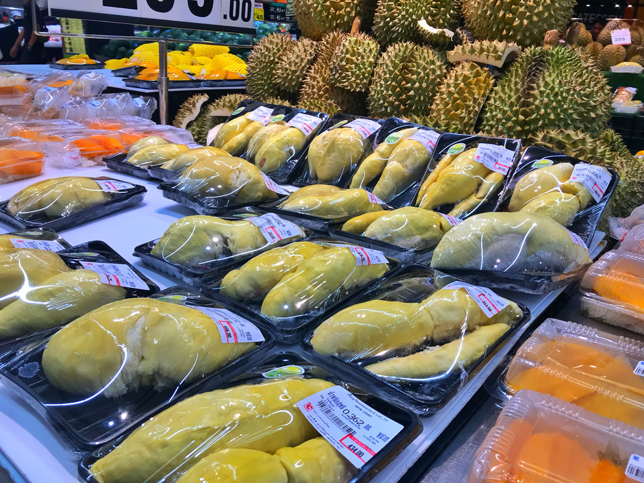 South Korea New Market for Musang King Durians
