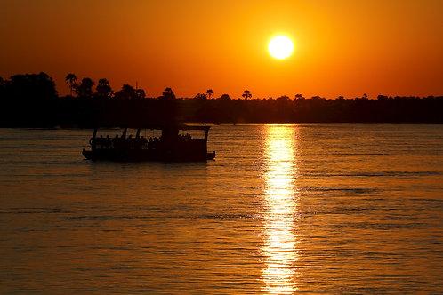 Chobe River Sunset #DT020