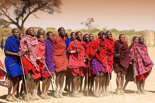 Maasai Dancers #DT012
