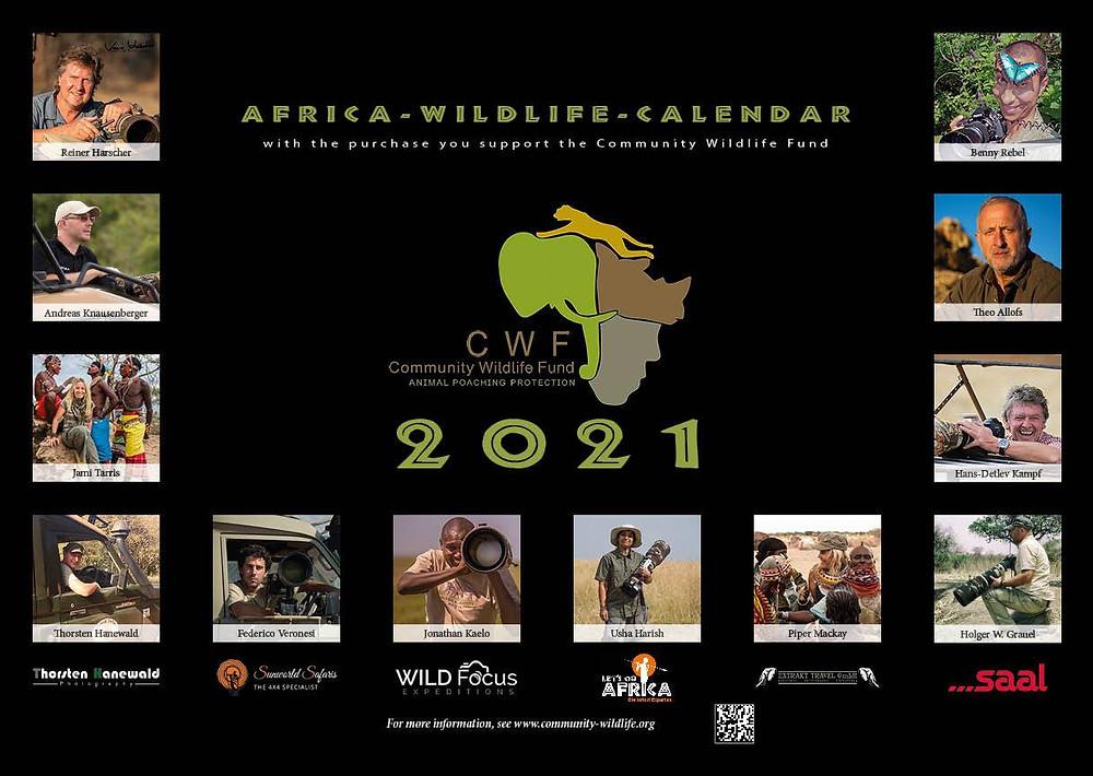 Community Wildlife Calendar 2021