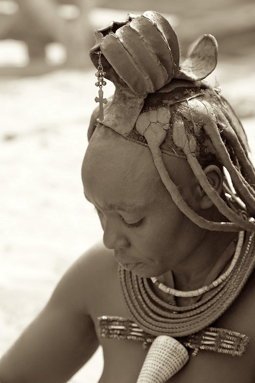 Ovahimba Women With Cross
