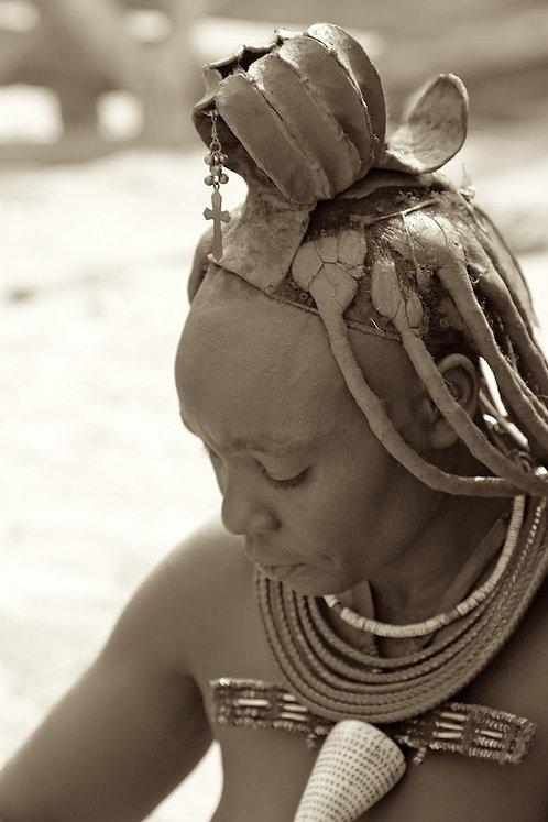 Himba Women Sepia #PP007