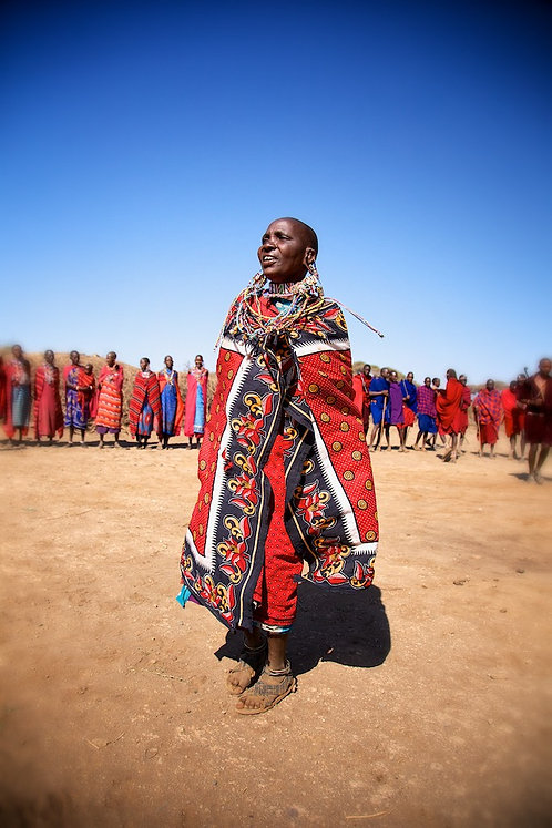 Maasai Women Dance #PP004