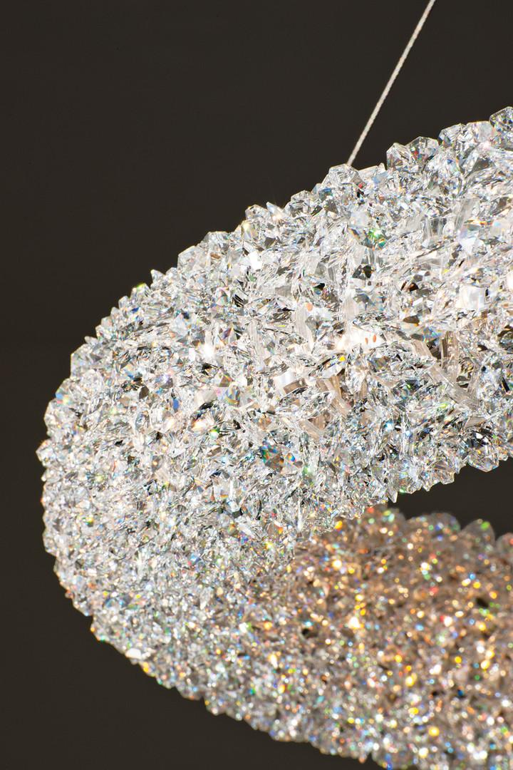 Swarovski Crystal Ring Chandelier