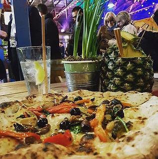 Vegetarian Pizza by Rust Bucket