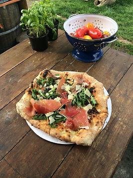 Parma Ham, Rocket & Parma Ham Pizza