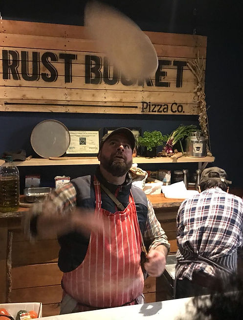 Authentic Neapolitan Pizza at Rust Bucket