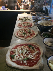 Pizzas on the pass!