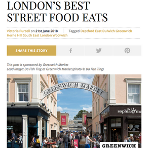 15 OF SOUTH EAST LONDON'S BEST STREET FOOD EATS - THE RESIDENT