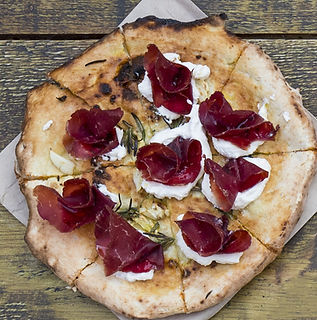 Real Pizza with Bresaola