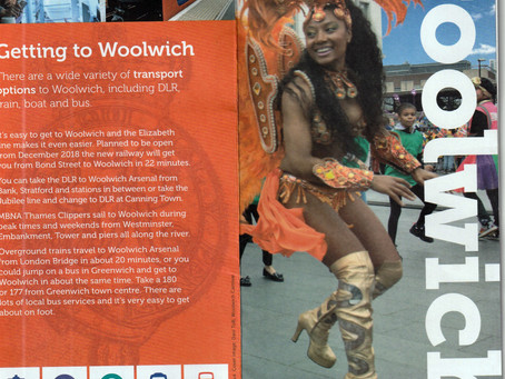 Woolwich Oficial Map & Guide