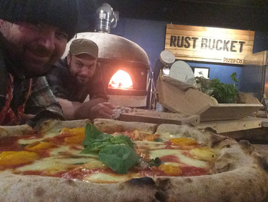 Rust Bucket Pizza - Wood-Fired Pizza Oven