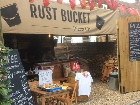 CALLING FOR RUST BUCKET PIZZA TO BE GRANTED TEMPORARY USE OF COUNCIL OWNED DERELICT LAND