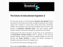 Newsletter 08/11/2020
