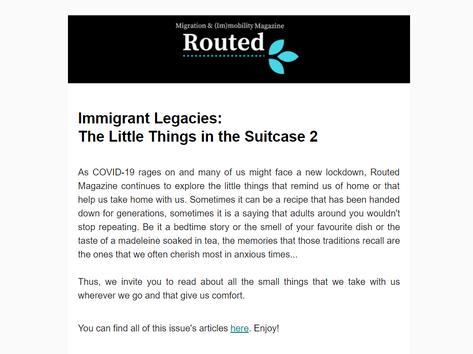 Newsletter 31/08/2020