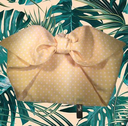 1950s Polka Dot Head Scarf Tie