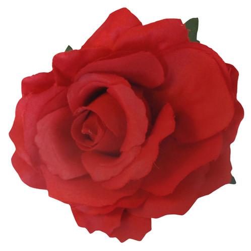 Rose hair flower clip brooch mightylinksfo